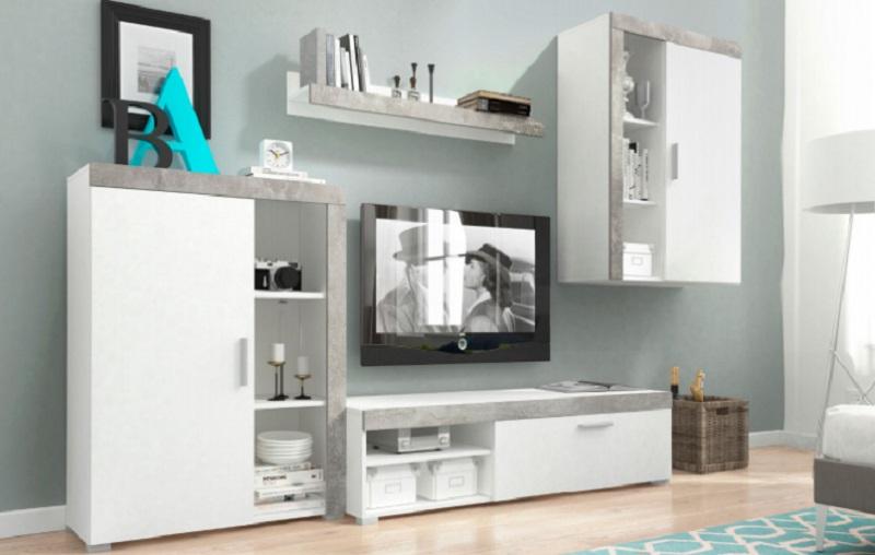 стеллажах для жилых комнат основная часть мебели